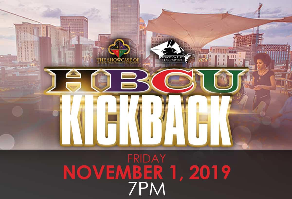 HBCU Kickback Header